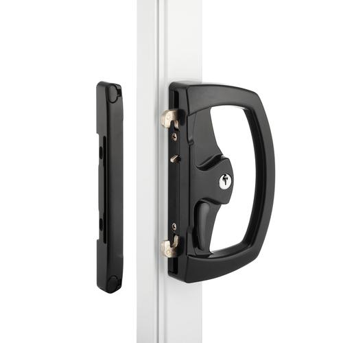 Yr4550 Sliding Glass Door Lock Black Agnew Building Supplies