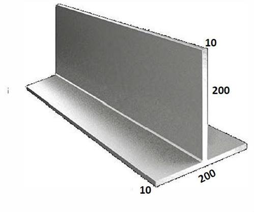 T BAR GALVANISED 200 x 200 x 10mm