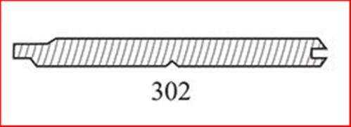 RADIATA UNPRIMED #302 VEE JOINT ROM LINING BOARD 140 x 12 x 4800mm