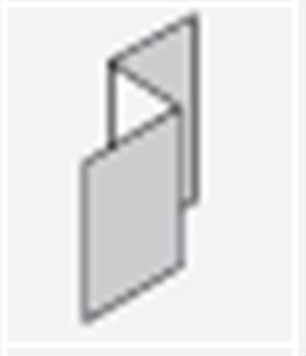 SCYON LINEA PVC BOX CORNER Z FLASHING 2700mm