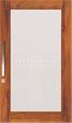 DOOR LUMWS 1G CLEAR 2040 X 1200 X 40mm
