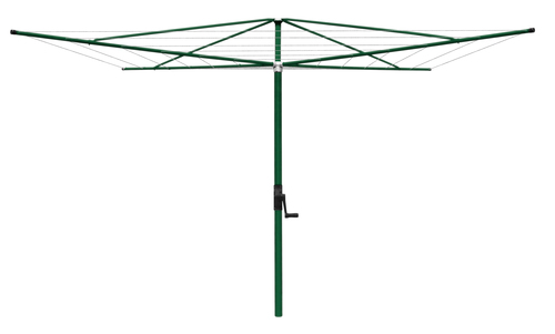 AUSTRAL CLOTHES LINE ROTARY FIXED ELITE 4M HERITAGE GREEN