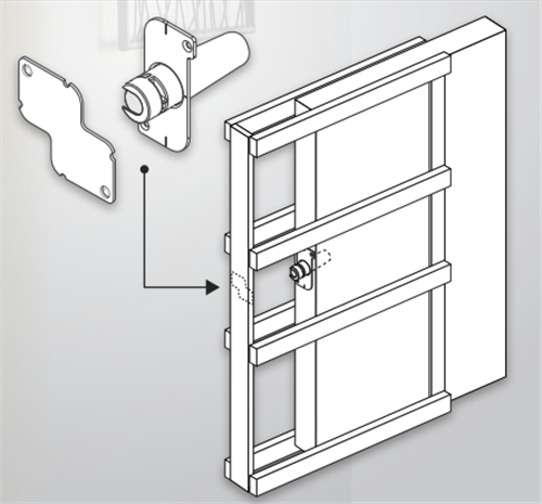 HUME EVOLUTION CAVITY UNIT ONE TOUCH DOOR RELEASE | Agnew Building ...