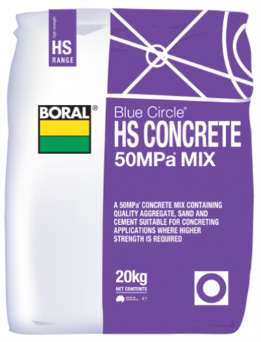 CONCRETE 50MPa MIX (HIGH STRENGTH) 20kg
