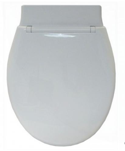 TOILET SEAT WHITE HD ABS CARNIVAL W / - 260mm LINK
