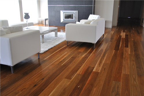 Flooring Spotted Gum Nsw T&G 130 X 14Mm Solid Secret Nail