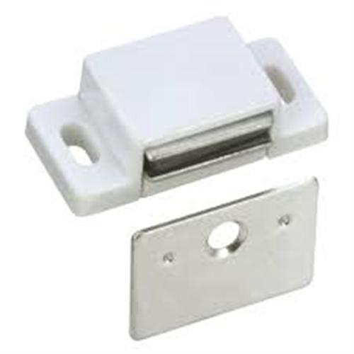 CATCH MAGNETIC CUPBOARD 4kg WHITE W / - SCREWS