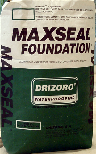 Maxseal Foundation | Agnew Building Supplies