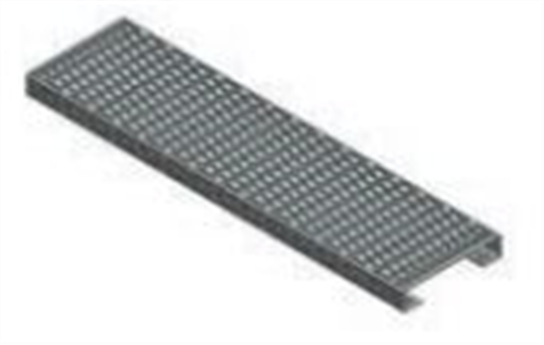 STAIR STRINGER HD GALVANISED PERFORATED TREAD | Agnew Building Supplies