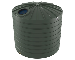 WATER TANK BUSHMANS ROUND TALL 10000lt
