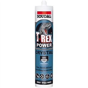 SOUDAL T-REX POWER CRYSTAL CLEAR 290ml