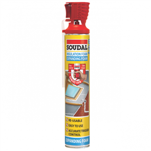 SOUDAL EXPANDING FOAM INSULATION (GENIUS) BLUE 750ml