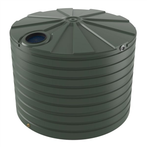 WATER TANK BUSHMANS ROUND TALL 15000lt