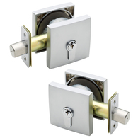 G2 DOUBLE CYL SMOOTH SQ DEADBOLT 20mm THROW