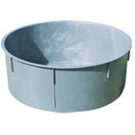 WATER TUB ROUND 380lt C/W 40MM BUNG