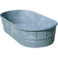 WATER TUB OVAL 1000lt C/W 40MM BUNG