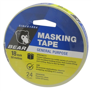 TAPE BEAR GENERAL PURPOSE MASKING