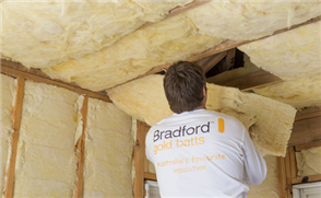 BRADFORD GOLD GLASSWOOL CEILING BATTS R3.5