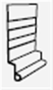 HARDIE ALUMINIUM STEP FLASHING 3600mm