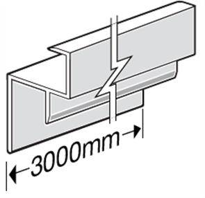 HARDIEDECK™ FASCIA EDGE CAP 3000mm