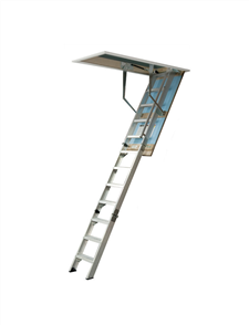 LADDER ATTIC ALUMINIUM WIDE ULTIMATE 700
