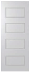DOOR SOR12 SORRENTO 6mm PRIMED MDF