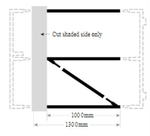 FORTRESS GATE HORIZONTAL RAILS &  DIAGONAL for 1850 - 2000mm HIGH