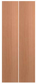 HUME DOOR BF1 BI-FOLD (COMPLETE WITH TRACK & FITTINGS) SPM (STAIN GRADE)