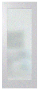 HUME DOOR HMC11 HUMECRAFT PRIMED MDF GLAZED CLEAR