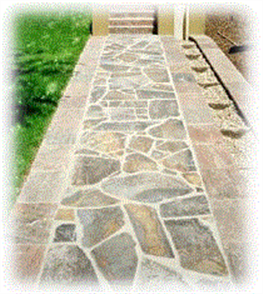 WJS NATURAL DIMENSION STONE FLAGGING