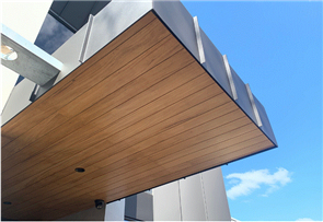 CLADDING SPOTTED GUM REVERSIBLE VEE JOINT KD END MATCHED STANDARD (RUSTIC) GRADE RANDOM LENGTHS 900 - 4500mm 122 x 12mm