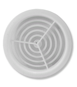 VENT PLASTIC ROUND (EAVES) 70mm