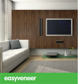 EASYCRAFT easyVENEER 300 (4mm) EG300  MR MDF 2400 x 1200 x