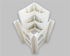 DINCEL 200mm CORNER PROFILE (2 PCE) x 3600mm