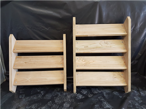 STEPS & RISERS TIMBER (MANY SIZES)