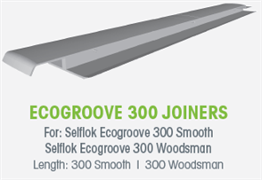WTEX ECOGROOVE SMOOTH JOINER EACH - 300mm (300mm GROOVE)