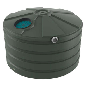 WATER TANK BUSHMANS ROUND SQUAT 2450lt