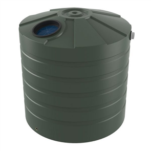 WATER TANK BUSHMANS ROUND TALL 2550lt