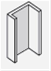 SCYON LINEA ALUMINIUM UNIVERSAL WINDOW ADAPTOR 3700mm