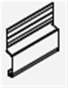 HARDIE EDGE  /  EASYLAP  /  STRIA / FINE TEXTURE CLADDING / EASYTEX BASE TRIM 3950mm