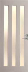 HUME DOOR NEX30 NEXUS DURACOTE (TEMPERED HARDBOARD) GLAZED TRANSLUCENT 2040 x 820 x 40mm
