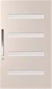 DOOR PMAD PV 104 GLAZED CLEAR