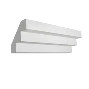 PLASTERBOARD (USG) CORNICE 'CAIRO' 3 STEP 75mm x 4.2M