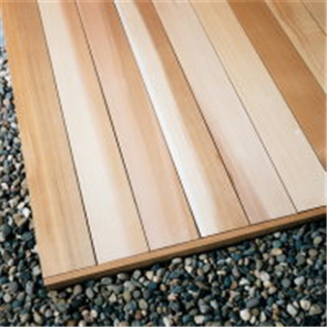 WESTERN RED CEDAR 9mm VEE JOINT COVERS 137mm RANDOM LENGTHS