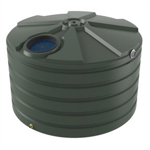 WATER TANK BUSHMANS ROUND SQUAT 4200lt