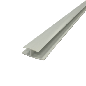 PVC DIVISIONAL MOULD JOINT STRIP HM4 WHITE 4.5mm