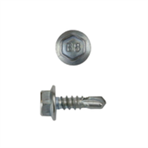 SCREW WAFER SDM B8 10g x 16mm HEX (Cat5) - PK1000