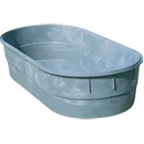 RELN 1000L OVAL WATER TUB C/W  H FRAME & BUNG