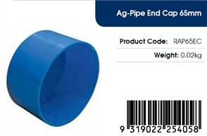 AGFLO 65mm END CAP