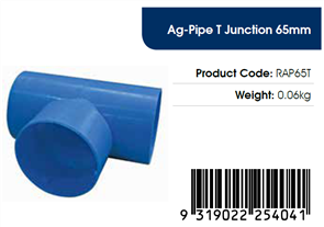 AGFLO 65mm T JUNCTION